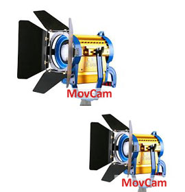 2 pack spot and flood 1500w dimmable
